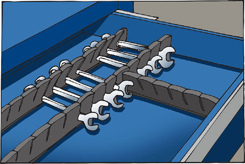 Socket Wrench Organizer