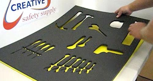 tool organizer foam