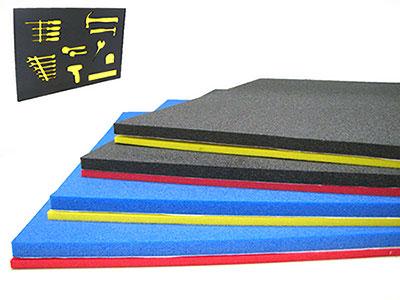 tool shadowing foam
