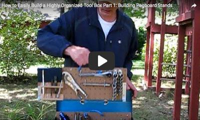 play video: build organized tool box