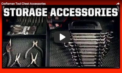 play video: craftsman tool chest accessories