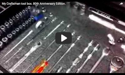 play video: Craftsman tool box organizer