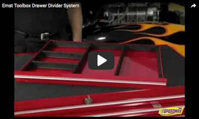 Tool Box drawer divider system