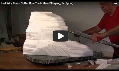 play video: hot wire foam cutter