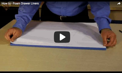 play video: How to- foam drawer liners