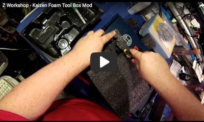 play video: Kaizen foam tool box