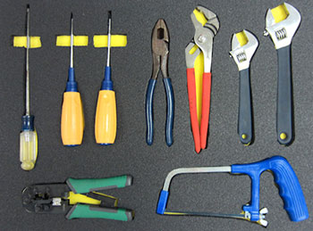 5S Foam Organizer for tools