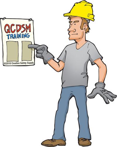 QCDSM training