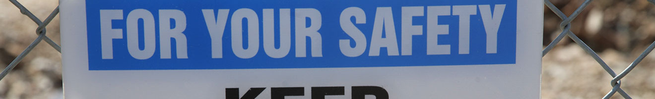 Catchy Safety Slogan Signs