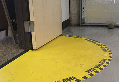 Fire Extinguisher Floor Marking Requirements Carpet