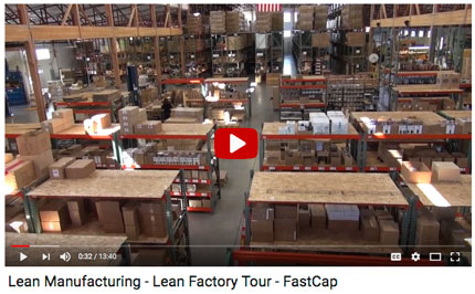 play video: Lean Manufacturing Factory Tour