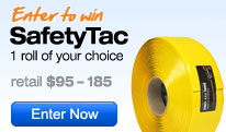 Enter to win a roll of SafetyTac floor tape