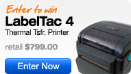 Enter to win a LabelTac 4 Industrial Label Printer