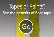 Floor Tape vs Floor Paint