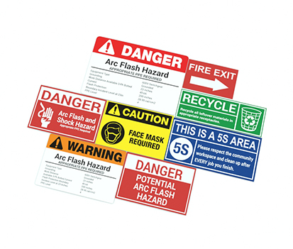 Arc Flash Label Samples