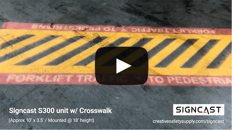 SignCast™ Crosswalk Video