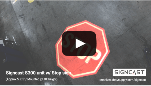 SignCast™ Stop Sign Video