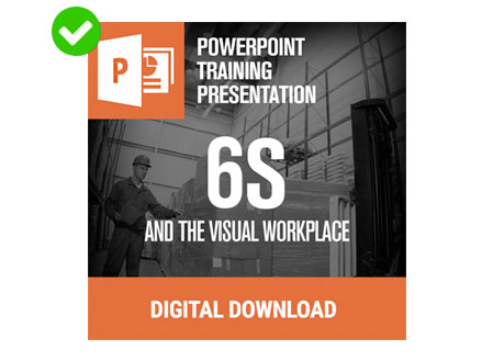 6S Powerpoint from Creative Safety Supply