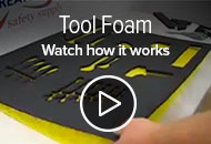 How to cut tool foam