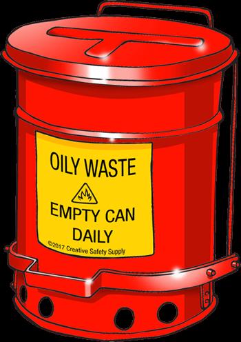 hazardous waste can