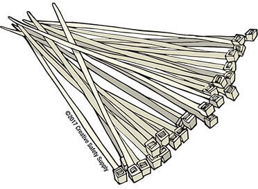 zip ties illustration