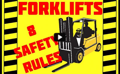 video: Forklift Safety - 8 Rules