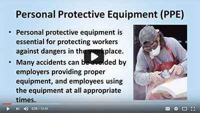 video: Personal Protective Equipment