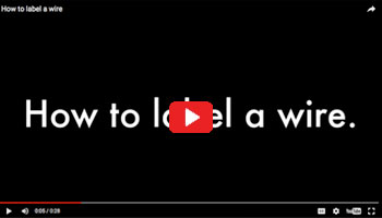 video: how to label a wire