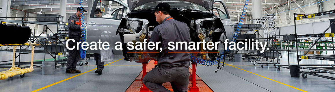 Create a safer, smarter facility.