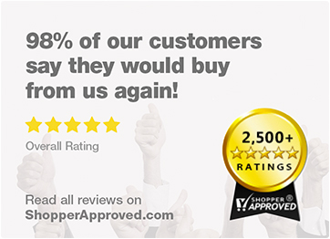 Customer Ratings at ShopperApproved.com