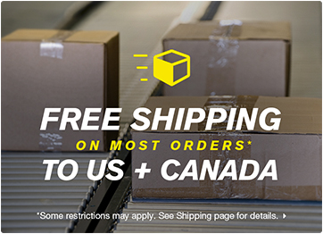 Free Shipping to U.S and Canada