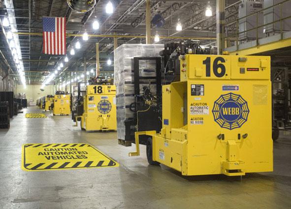 Factory Floor Stickers