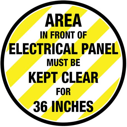 electrical panel label template  | creativesafetysup…