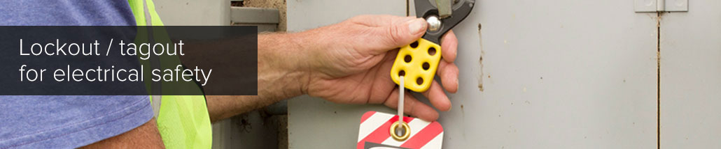 lockout tagout for electrical safety