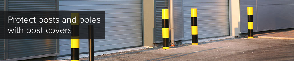protect posts and poles with post covers