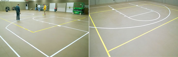 Integrity Volleyball Club Floor Tape