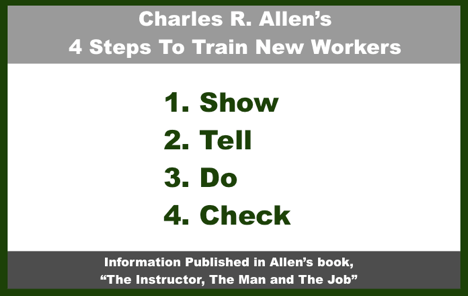 Charles Allen 4 Steps To Train New Workers