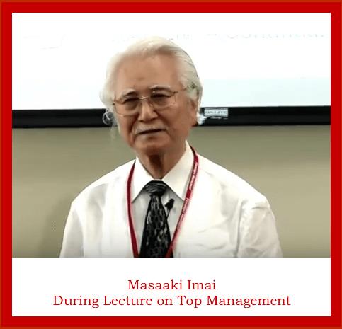 Masaaki Imai lecture