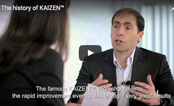play video: History of Kaizen