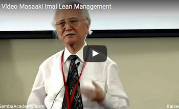play video: Masaaki Imai Lean Management