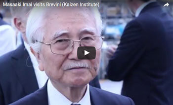 play video: Masaaki Imai visits Brevini