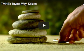 play video: Toyota's Way: Kaizen
