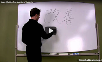 play video: learn the meaning of kaizen