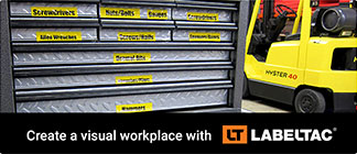 Create a visual workplace with LabelTac