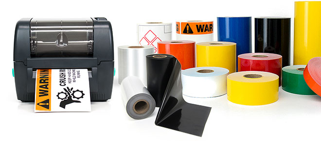 LabelTac label printer and supplies
