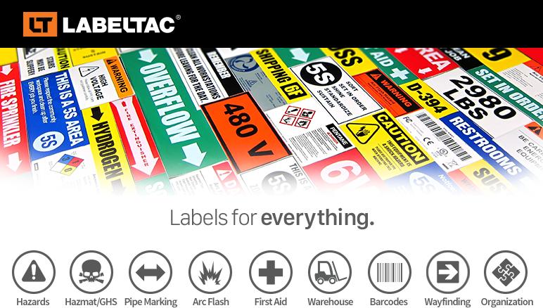 Labeltac 4 Pro Industrial Sign Maker And Label Printer