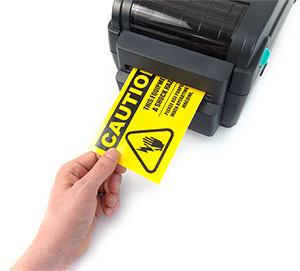 Printing labels on LabelTac printer
