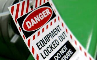 Lockout/Tagout Labels