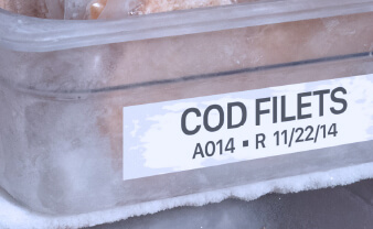 Cold Storage Labels