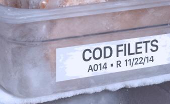 Cold Storage Labels